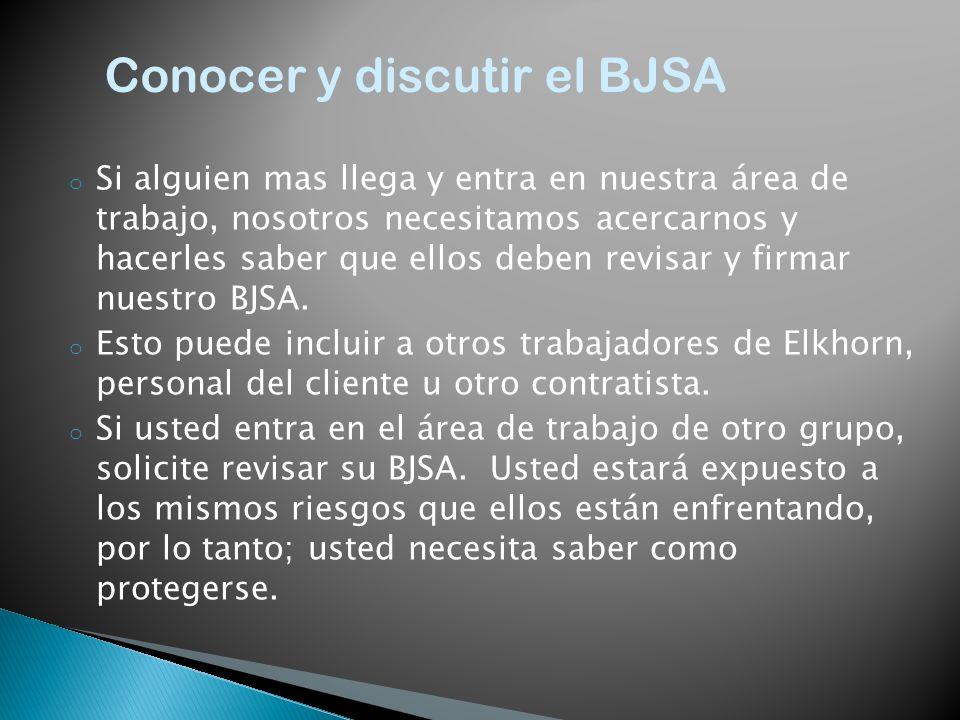 Conocer y discutir el BJSA