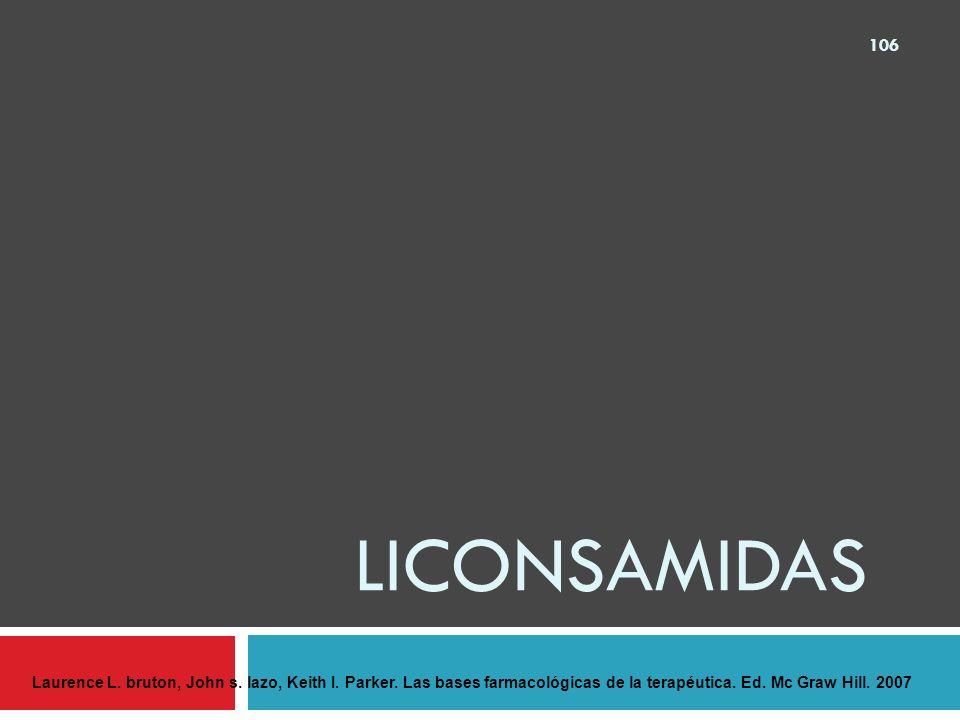 lICONSAMIDAS Laurence L. bruton, John s. lazo, Keith I.
