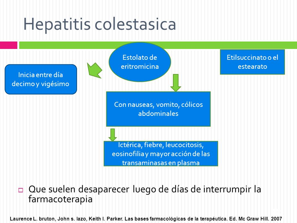 Hepatitis colestasica