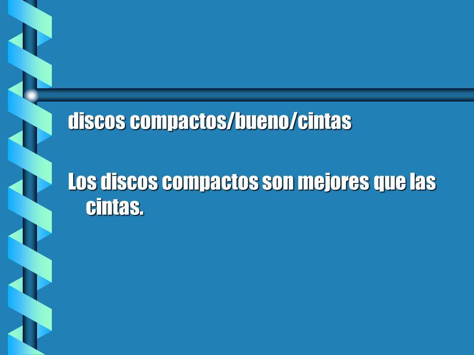 discos compactos/bueno/cintas