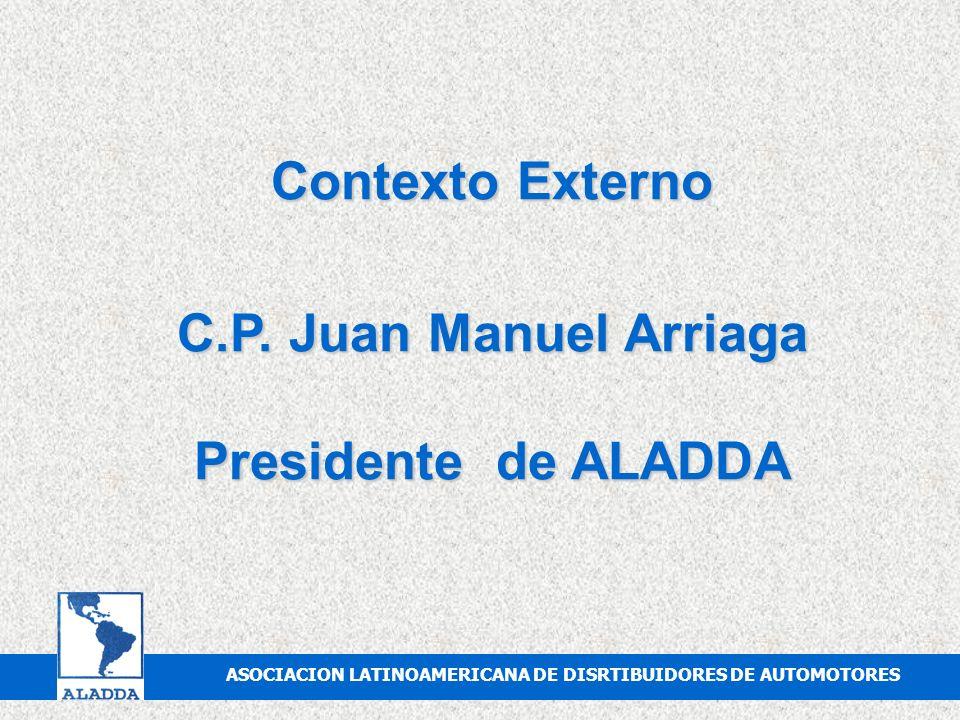 C.P. Juan Manuel Arriaga Presidente de ALADDA