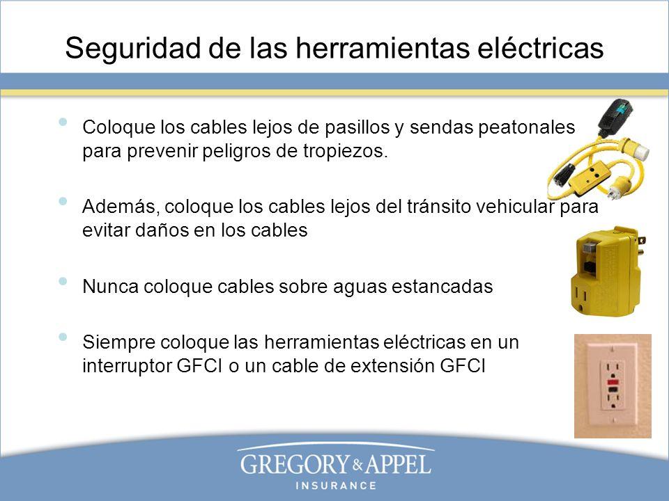 Seguridad de las herramientas eléctricas