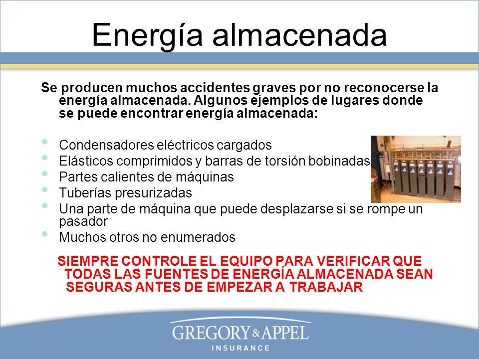 Energía almacenada