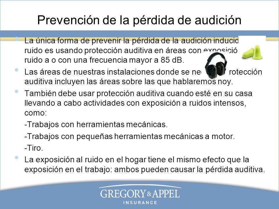 Prevención de la pérdida de audición