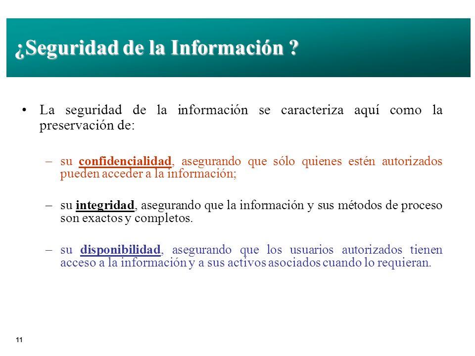 ¿Seguridad de la Información