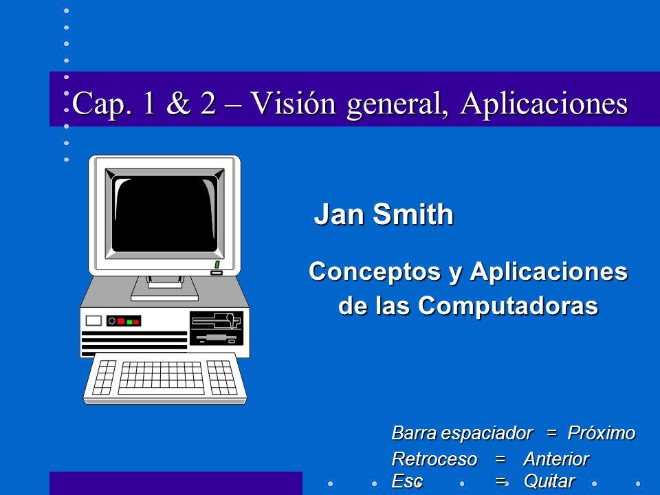 Cap. 1 & 2 – Visión general, Aplicaciones