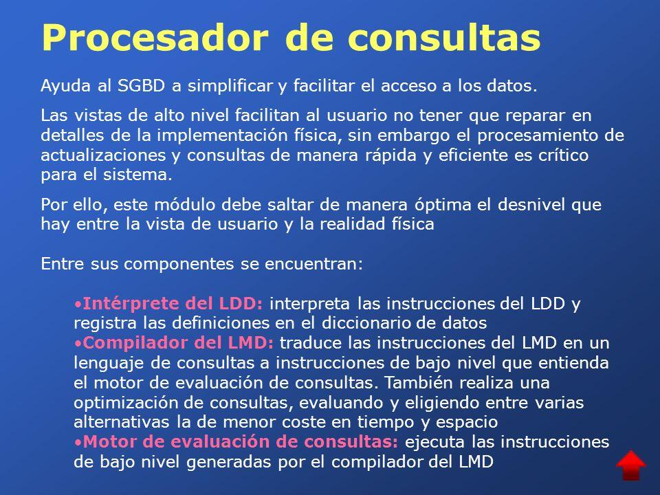 Procesador de consultas