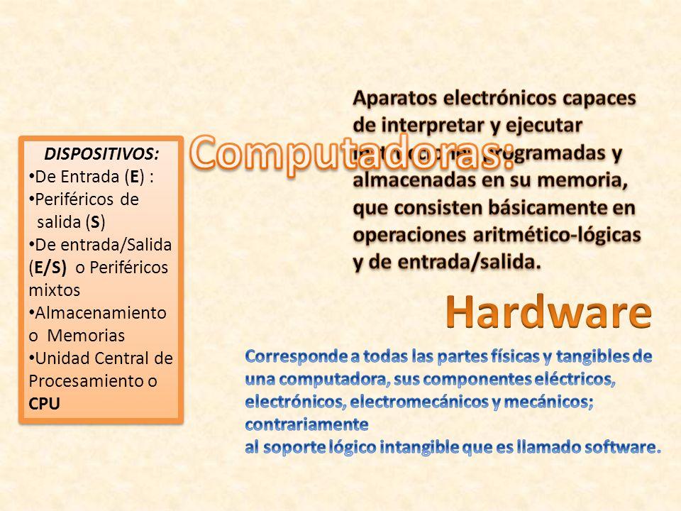 Computadoras: Hardware