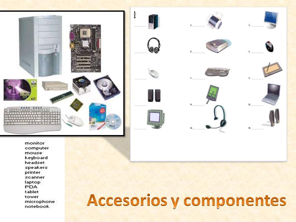 Accesorios y componentes