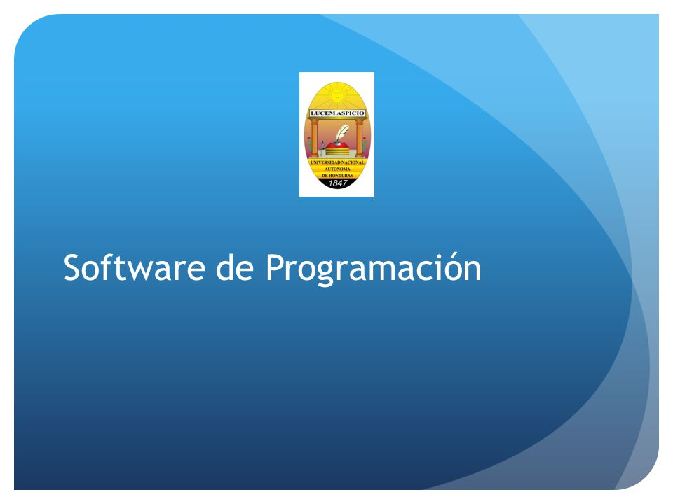 Software de Programación