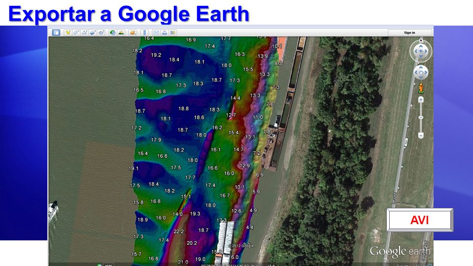 Exportar a Google Earth
