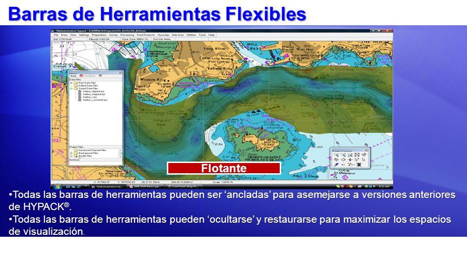 Barras de Herramientas Flexibles