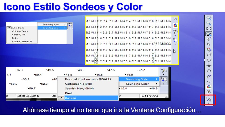 Icono Estilo Sondeos y Color