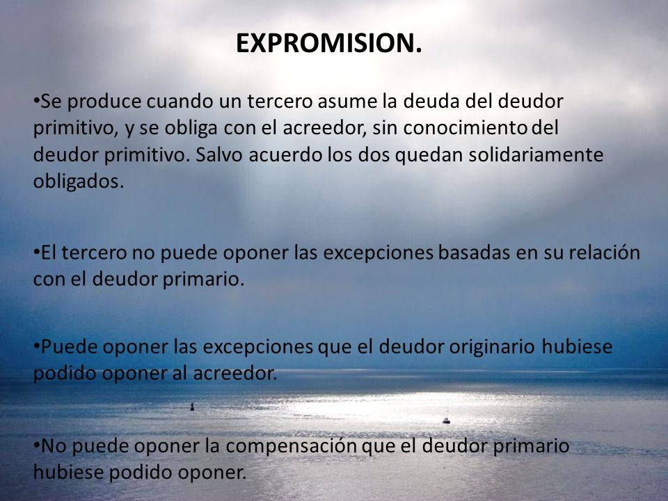 EXPROMISION.