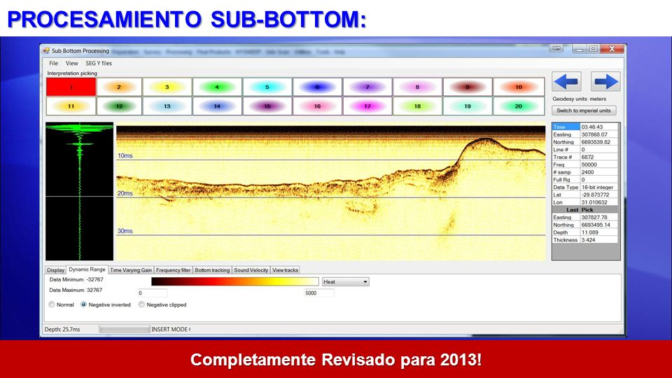 PROCESAMIENTO SUB-BOTTOM: