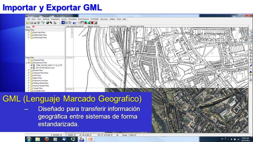 Importar y Exportar GML