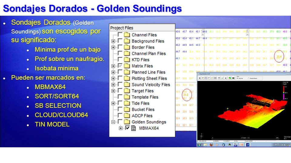 Sondajes Dorados - Golden Soundings