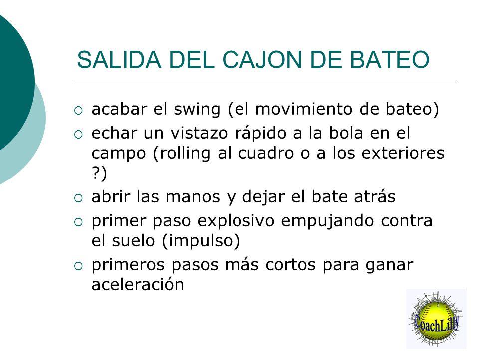 SALIDA DEL CAJON DE BATEO