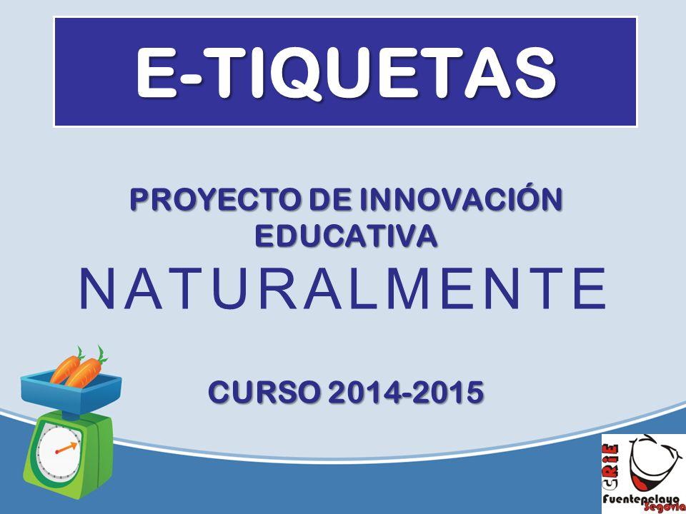 Proyecto de innovaci n educativa naturalmente curso ppt for Proyecto de construccion de aulas de clases
