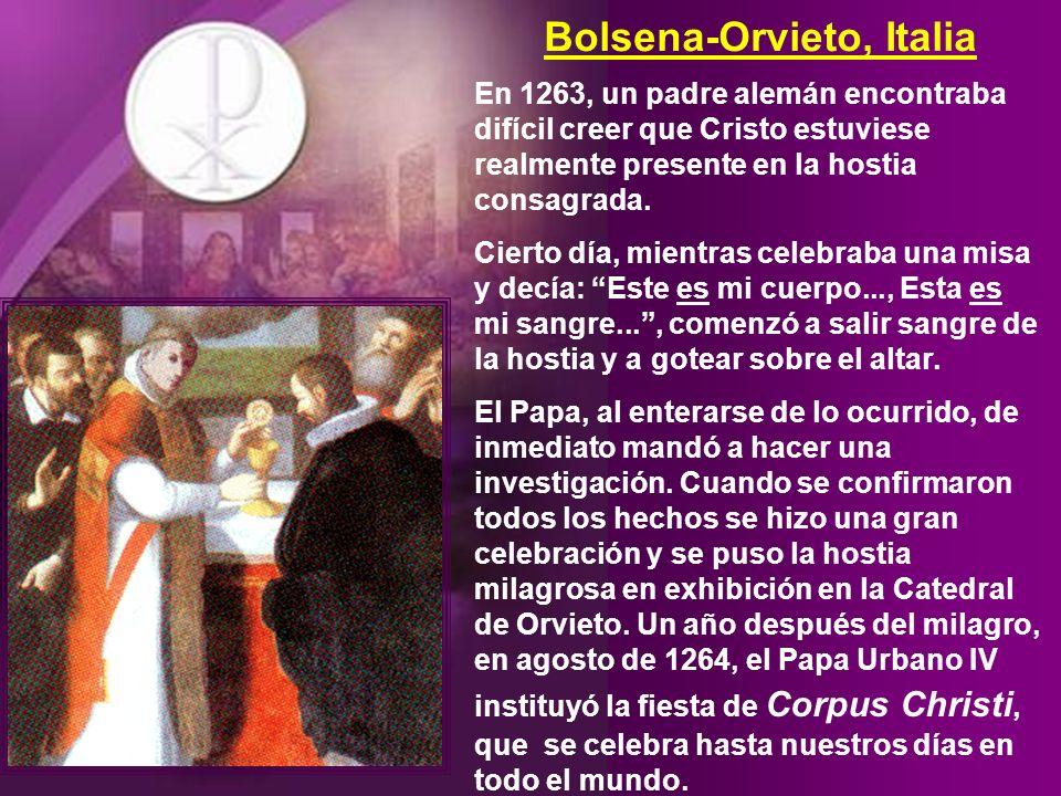 Bolsena-Orvieto, Italia