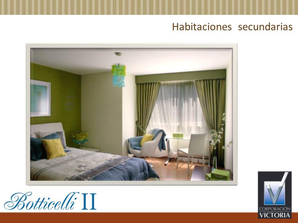 Habitaciones secundarias