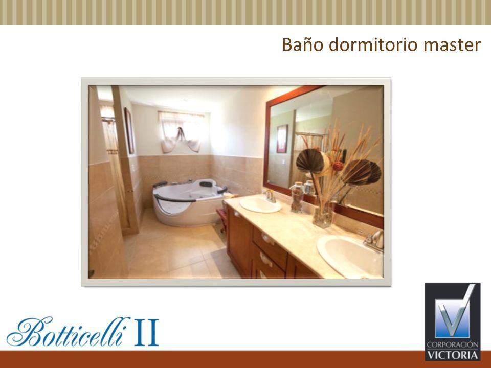 Baño dormitorio master