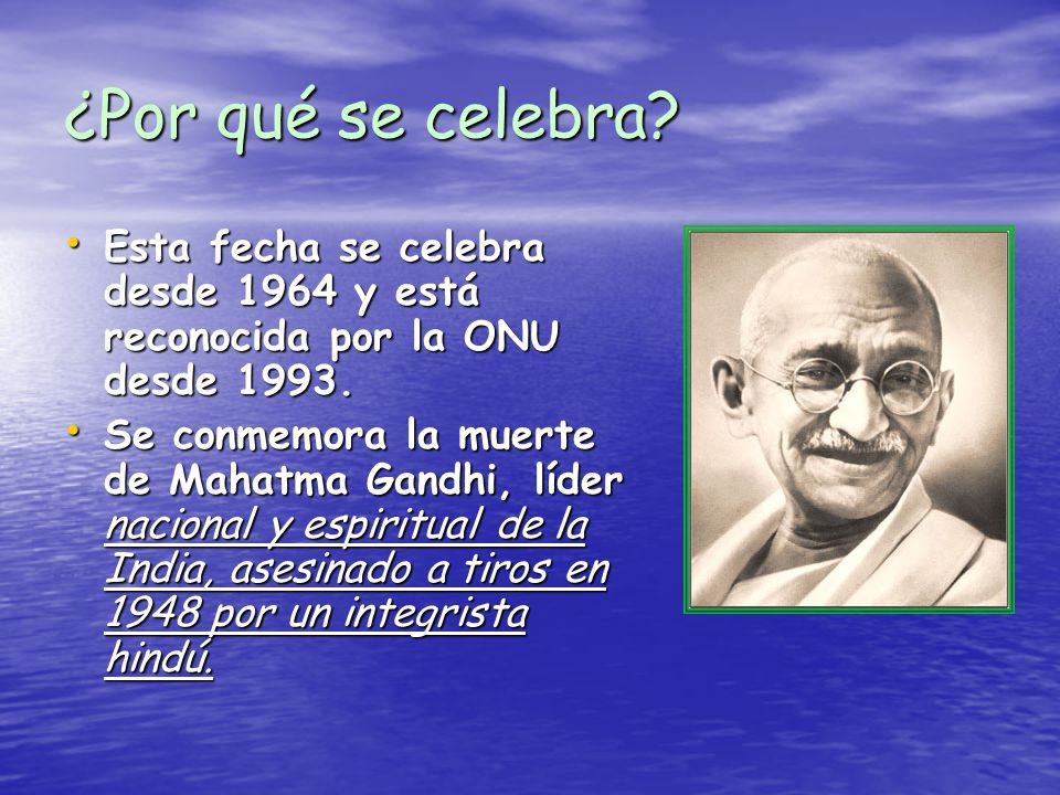 Día De La Paz 30 De Enero De 2007: 30 De Enero: Día De La Paz Y No Violencia.