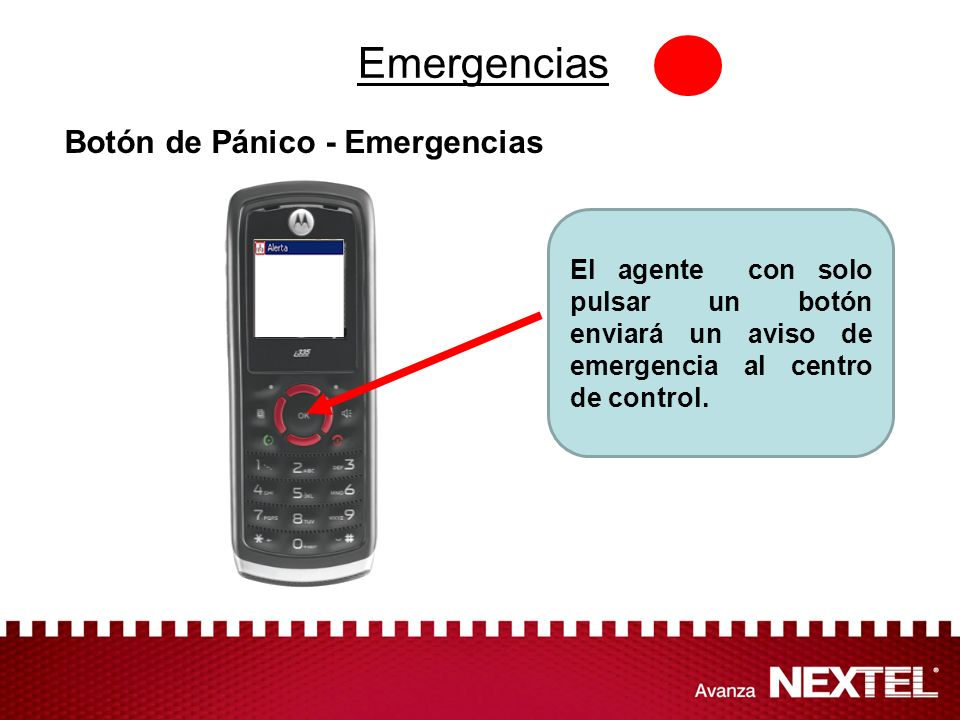 Emergencias Botón de Pánico - Emergencias