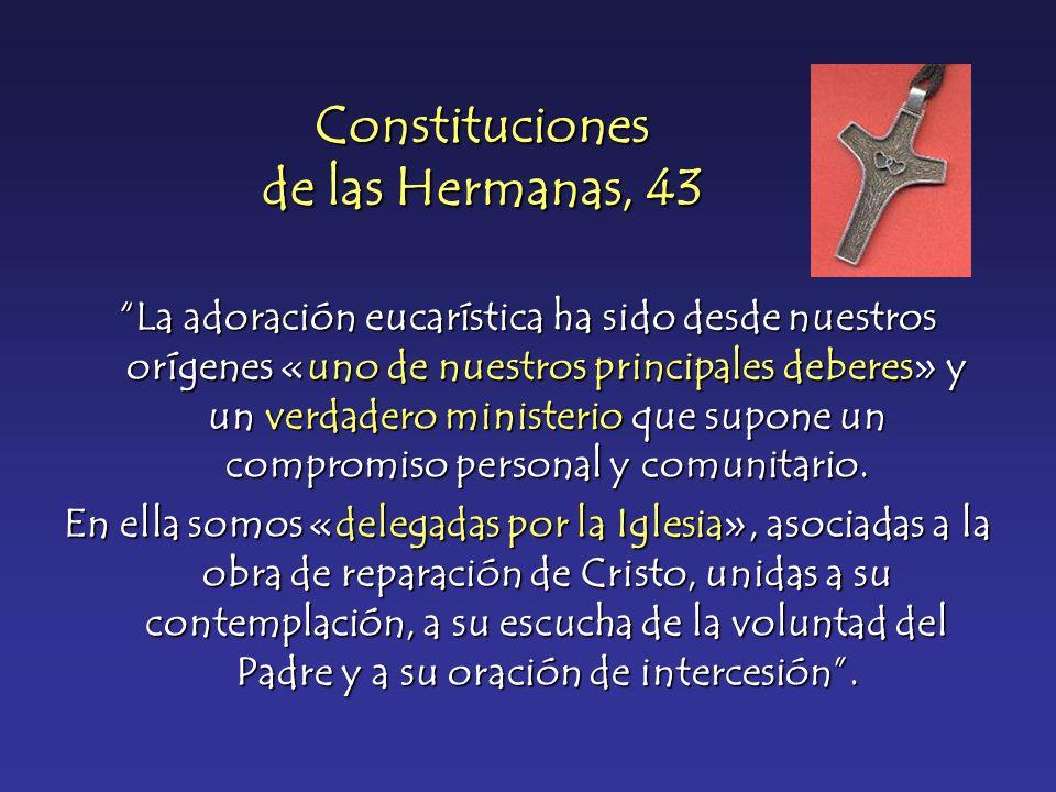 Constituciones de las Hermanas, 43