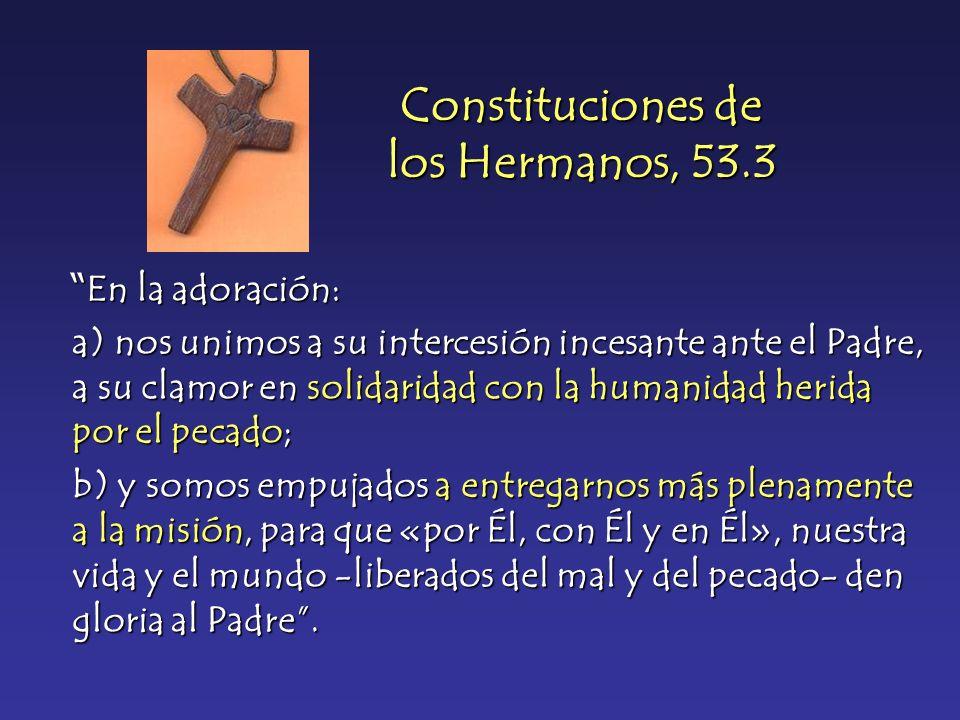 Constituciones de los Hermanos, 53.3