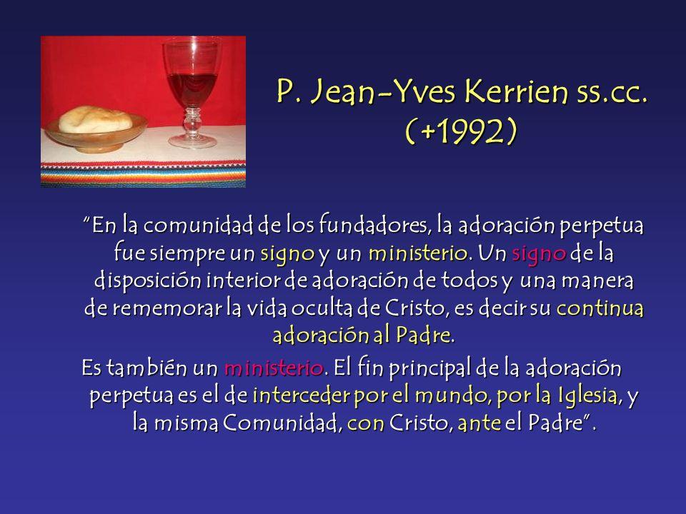 P. Jean-Yves Kerrien ss.cc. (+1992)
