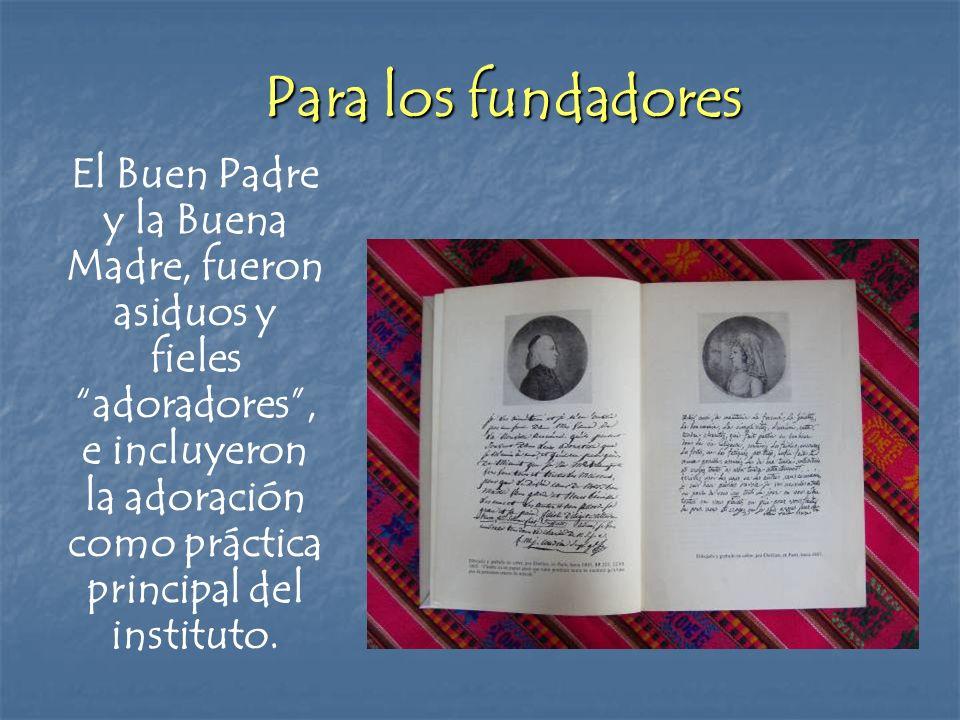 Para los fundadores