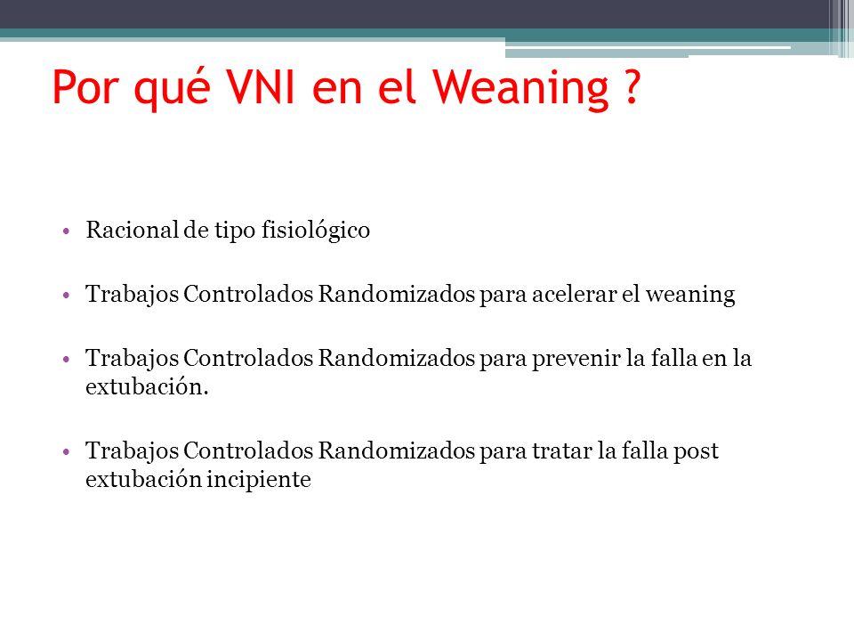 Por qué VNI en el Weaning