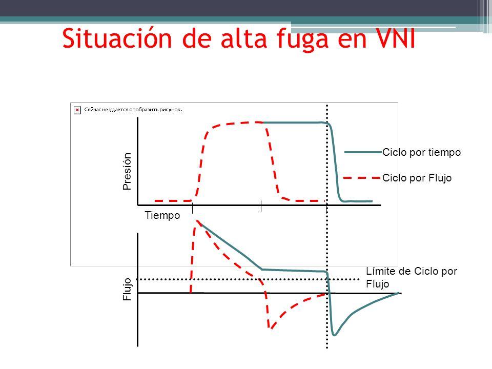 Situación de alta fuga en VNI