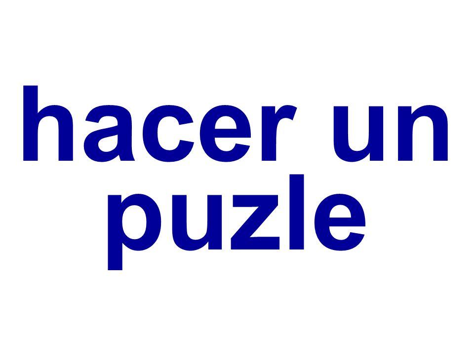 hacer un puzle