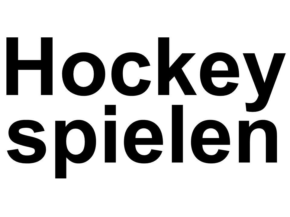 Hockeyspielen