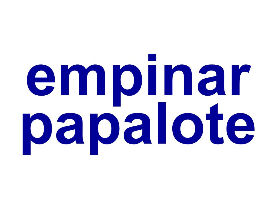 empinar papalote