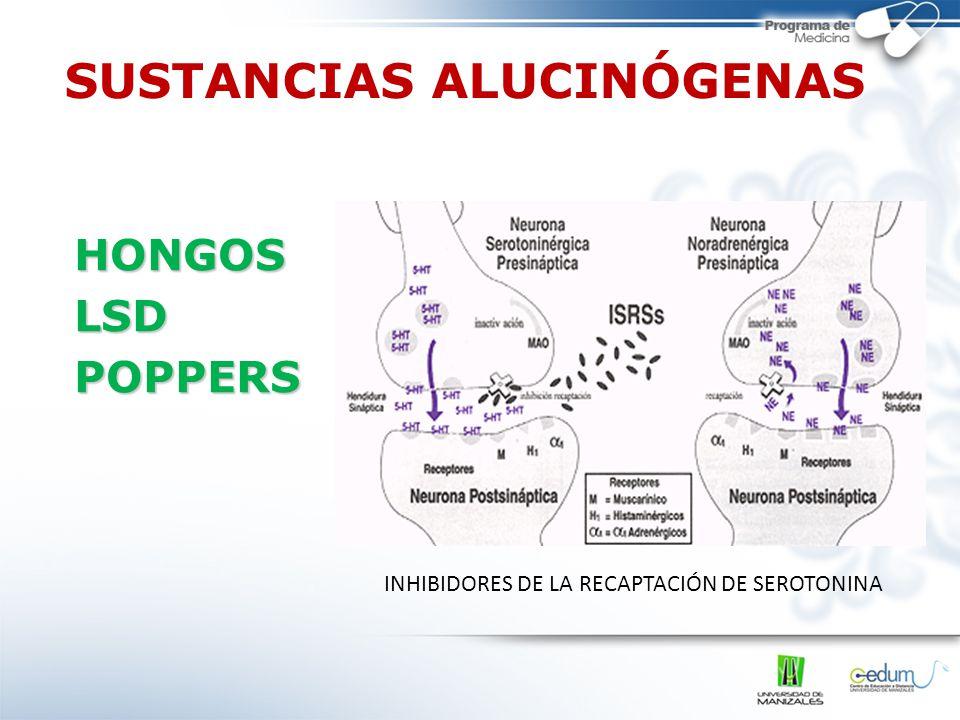 SUSTANCIAS ALUCINÓGENAS