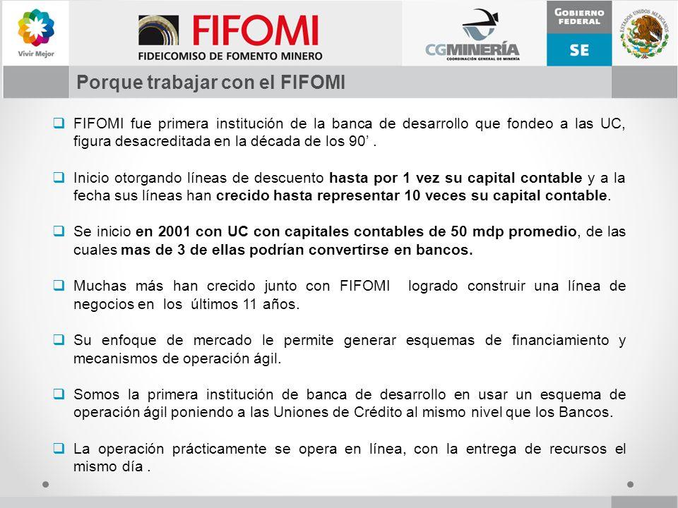 Porque trabajar con el FIFOMI