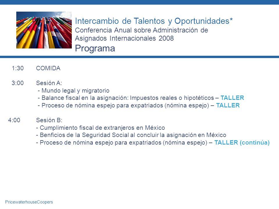Programa Intercambio de Talentos y Oportunidades*