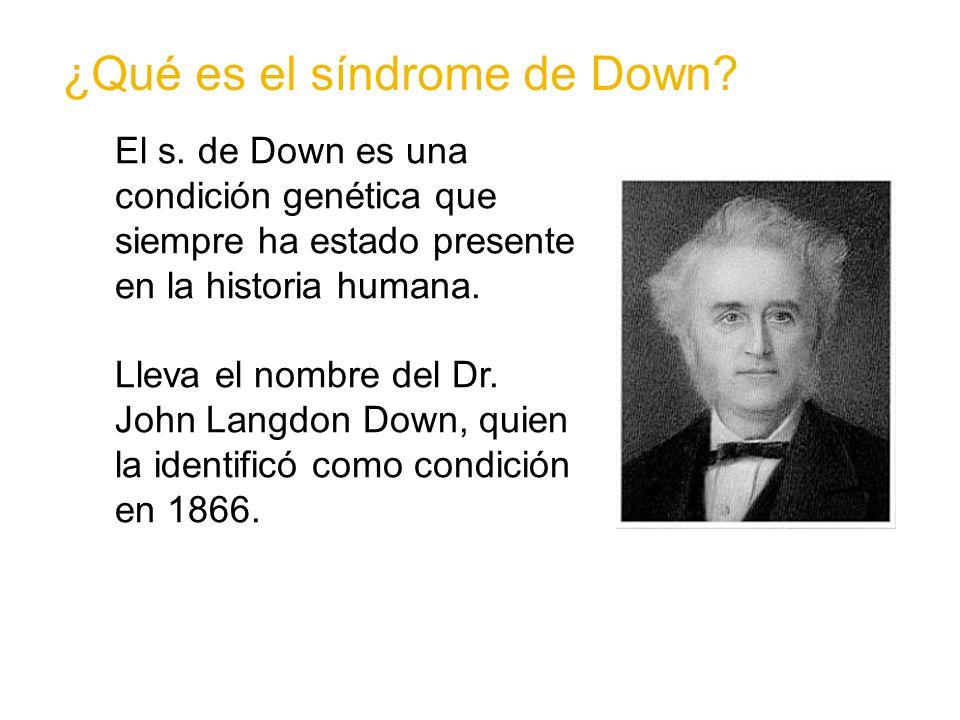 ¿Qué es el síndrome de Down