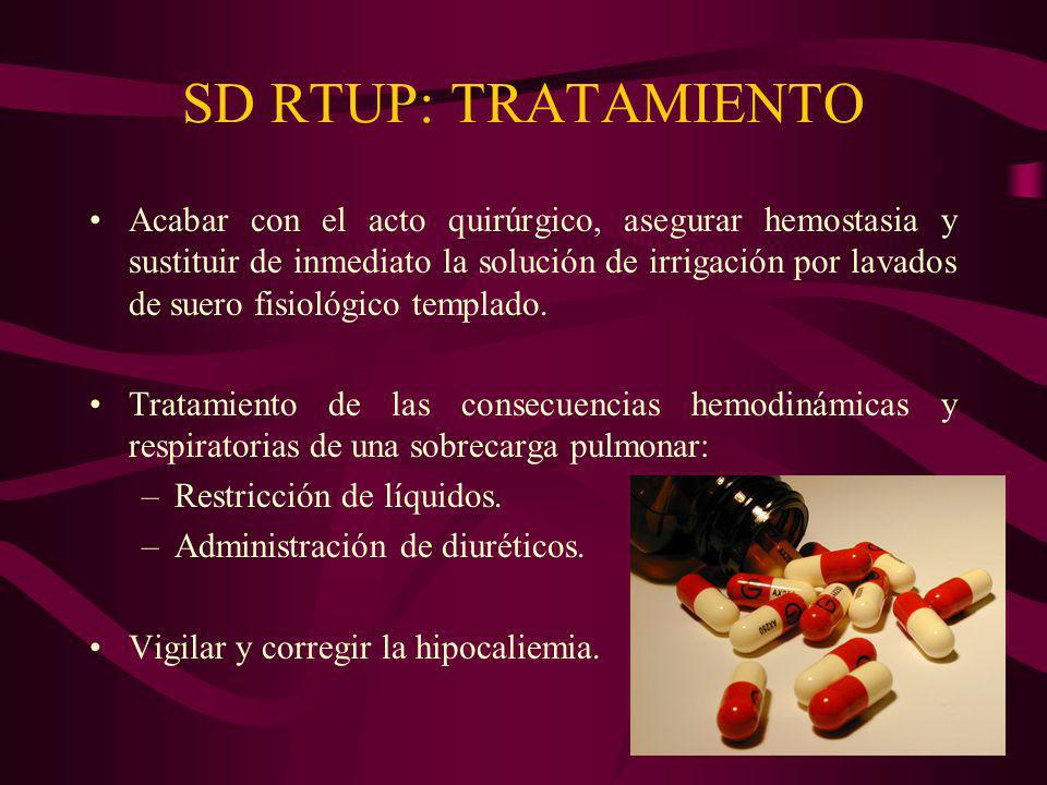 SD RTUP: TRATAMIENTO