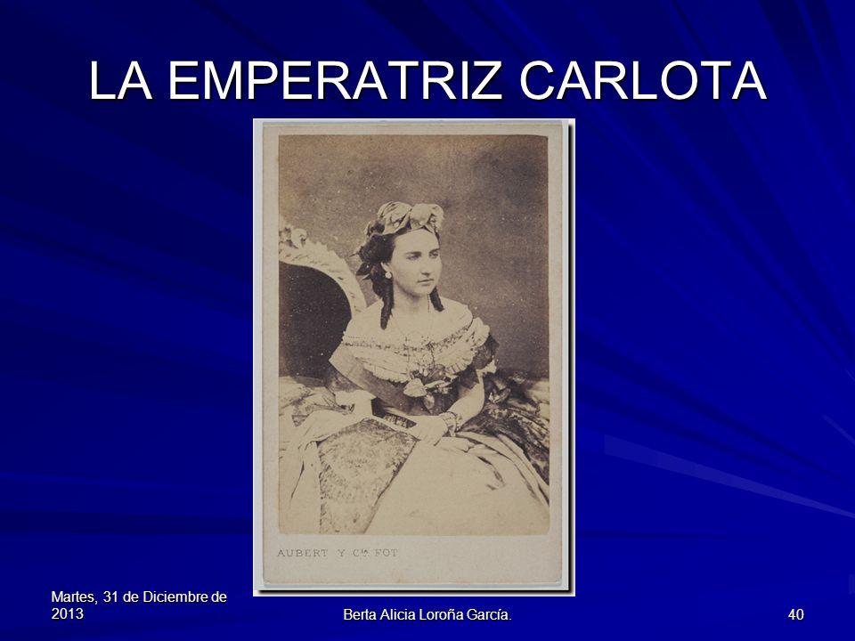 Berta Alicia Loroña García.