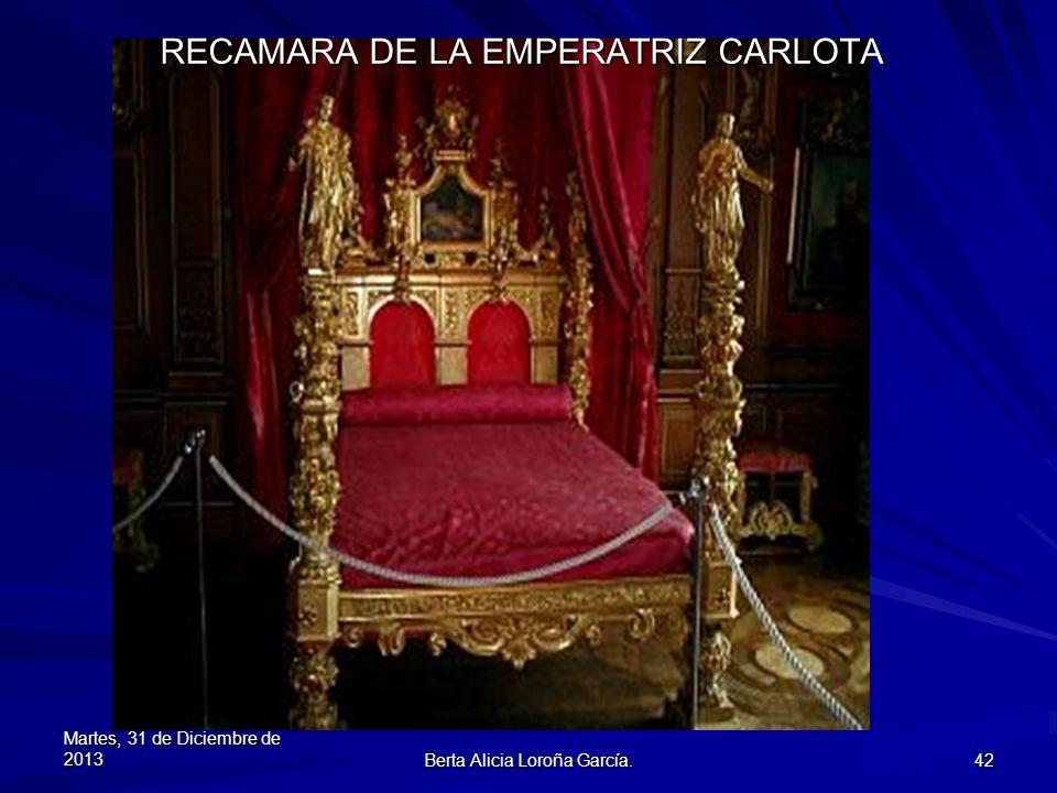 RECAMARA DE LA EMPERATRIZ CARLOTA