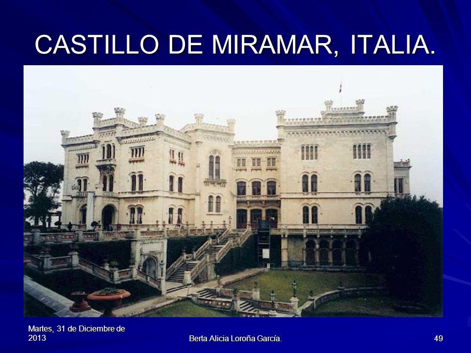 CASTILLO DE MIRAMAR, ITALIA.