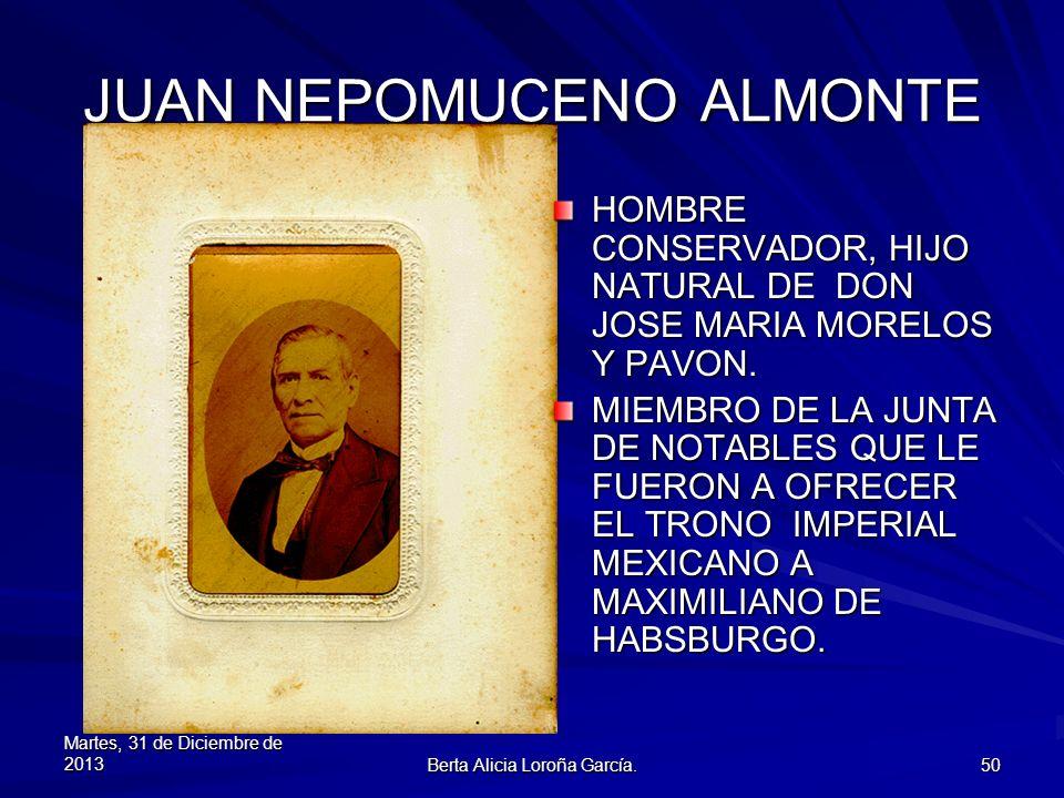 JUAN NEPOMUCENO ALMONTE