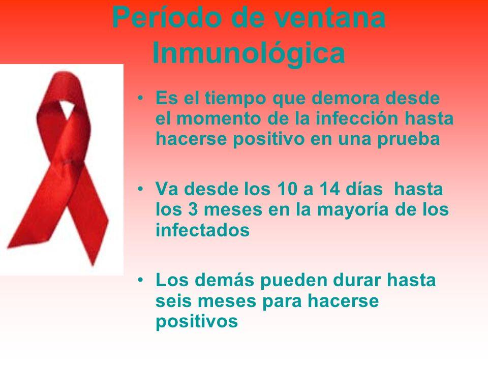 Período de ventana Inmunológica