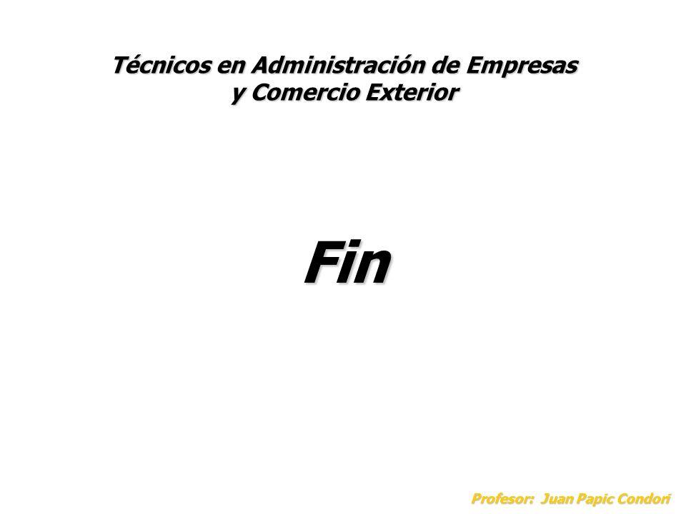 Técnicos en Administración de Empresas y Comercio Exterior