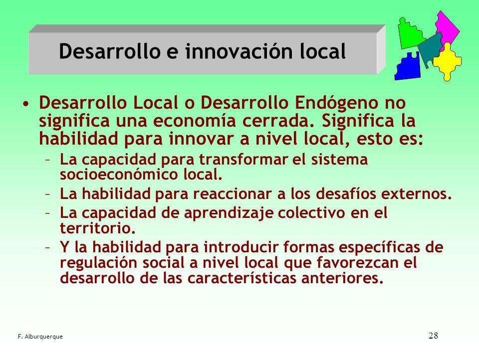 Desarrollo e innovación local
