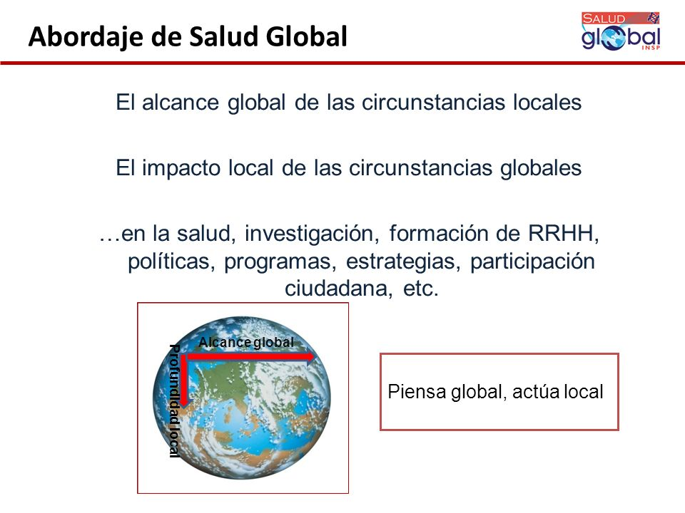 Abordaje de Salud Global